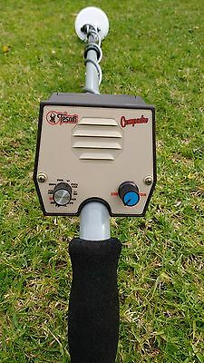 """Tesoro Compadre Metal Detector-4"""" Concentric Coil-Modified-Sens Coil Change Mods"""