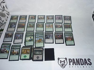 MtG Magic the Gathering Kaladesh schwarz grünes Artificer Fabricate Deck