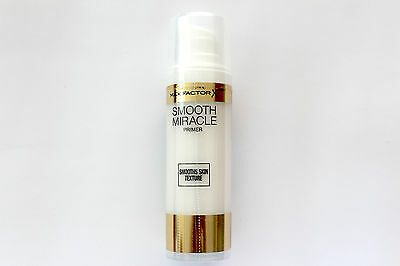 Max Factor Smooth Miracle Primer Smooths Skin Texture - 30ml