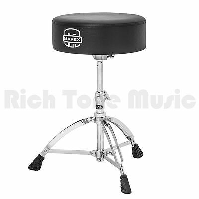 Mapex T570A Drum Throne - Thick Round Seat - Slotted Base