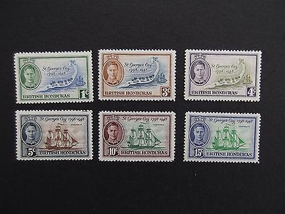 British Honduras - George VI 1949 150th Anniversary Set Unmounted Mint