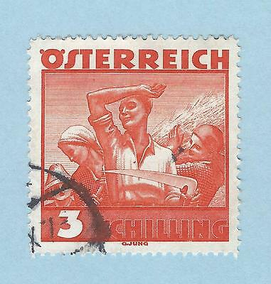 mjstampshobby 1934 Austria SG#736 Used VF Cond (Lot3612)