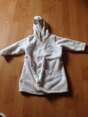 White Humphreys CornerDressing Gown Age Up To 12 Months