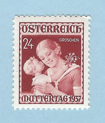 mjstampshobby 1937 Austria SG#804 Mint Light Hinge Mark OG (Lot3613)
