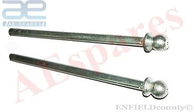 New Lambretta  Fork Rods Pair Fork Spring Rods Sx Tv Li Scooters @aud