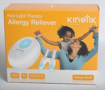 Kinetik Allergy Reliever (Red Light Therapy) new/sealed