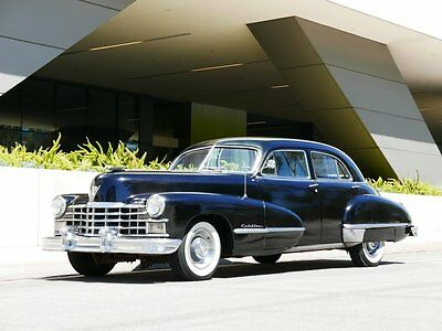 1947 Cadillac 62 series 4 dr Sedan Low Miles Cadi V 8 Automatic 1947 Cadillac 62 series. Automatic