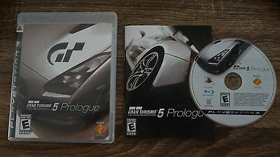 PS3 GT5 Gran Turismo 5 Prologue Video Game Complete! Sony Playstation 3