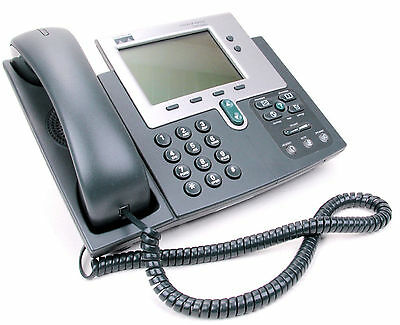 Cisco Cp-7940G Ip-Phone Gp7940 Ip Telefon Silver Grey Sip Mit Rechnung Cis_2