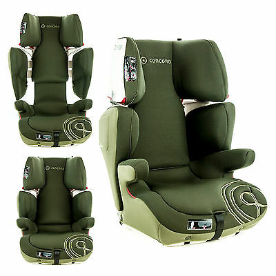 CONCORD TRANSFORMER T Convertible Isofix Car Seat SPECIAL EDITION Jungle Green