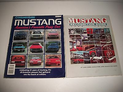 Mustang Recognition Guide '65-'73 & Consumer Guide Mustang 1989 Issue '65-'90