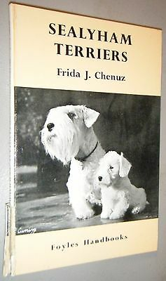 Foyles Handbook Sealyham Terriers by Frida Chenuz 1st  First Edition 1960