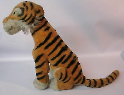 Alter STEIFF Tiger Shir Khan Dschungelbuch RAR Disney Jungle Book 60/70er Jahre