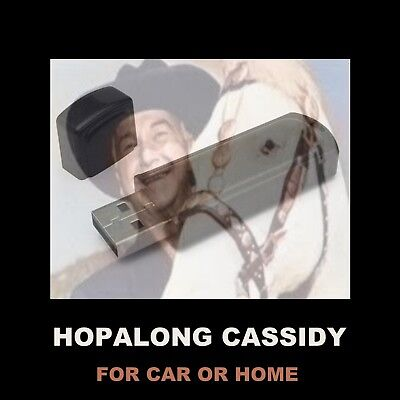 Hopalong Cassidy. Enjoy All 104 Old Time Radio Westerns While Driving Or At Home