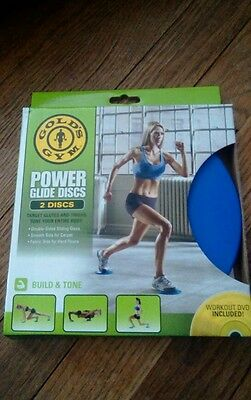 Gold's Gym Power Glide Discs Set of 2