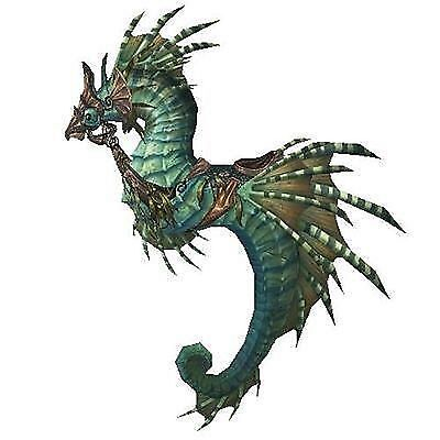 Reins of Poseidus ( Subdued Seahorse ) ✯ WoW Mount ✯ All EURO Realms