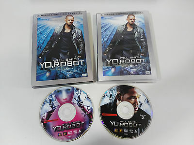 Yo Robot Edicion Especial 2 X Dvd + Extras En Caja Will Smith Español English