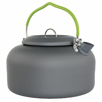 1.4 Litre Aluminium Travel Kettle Graphite - Anodised Aluminium - Yellowstone