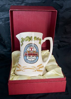 Original Tennent Lager 1985 Limited Edition Presentation Ceramic Water Jug