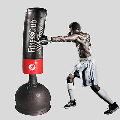 Heavy MMA Martial 5.25Ft Free Standing Boxing Punch Bag Kick Art Training