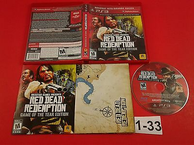 Red Dead Redemption: Game of the Year Edition [CIB Complete in Box] (Sony PS3)