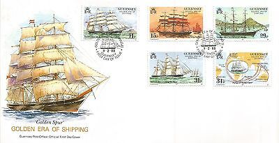 Guernsey 1988 Shipping (2Nd Series) First Day Cover