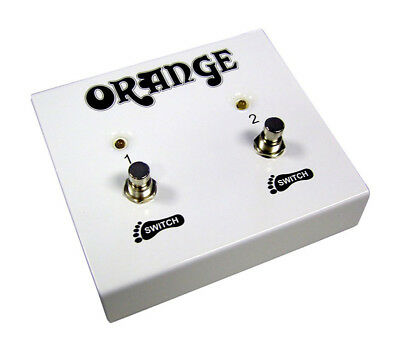Orange 2 Button Footswitch (NEW)