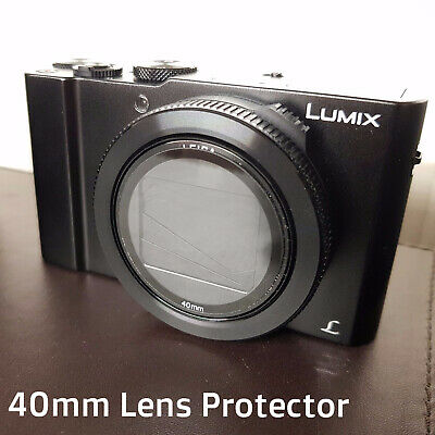 Lumix LX15 TZ80 Canon G7X G16 RX100 40mm Lens Glass Protector Cover UV Filter