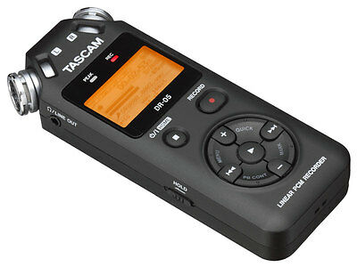 Tascam DR-05V2 Compact Digital Recorder. Includes 4GB SD Card (NEW)