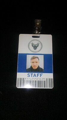 Haywire 2012 Kenneth (Ewan McGregor) Screen Used ID card Prop W/COA