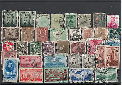 timbres roumanie royal