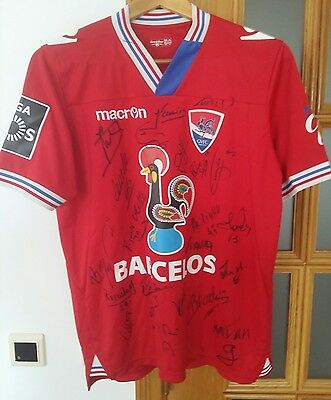 Gil Vicente (Portugal) Official Matchworn Home Shirt #21