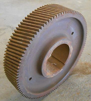 "Unknown Brand Helical Gear 315A12-108 108 Teeth, 14 1/4"" Od, 3 1/8"" Width, 5"" Id"
