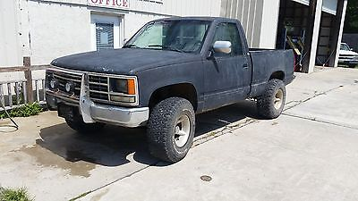 1989 Chevrolet C/K Pickup 1500 CHEYENNE cars trucks