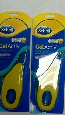 Scholl Gel Activ Everyday Insoles 2pack x 2