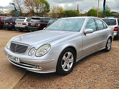 2003 Mercedes E220 CDI ADVANTGARDE Full Service History 2 Owners