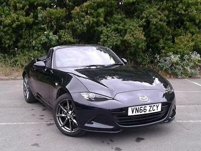 Mazda Mx-5 2.0 Sport Nav Convertible - Black