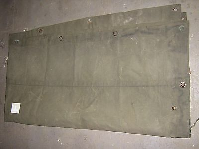 """Army Bedford Canvas, 4 ton. Side Cover.military vehicle canvas 43"""" x 98"""""""