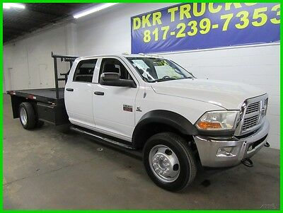 2011 Dodge Other SLT Crew Cab 4x4 2011 Dodge Ram 4500 Crew Cab 4x4 SLT Cummins Diesel Flatbed Low Miles!!