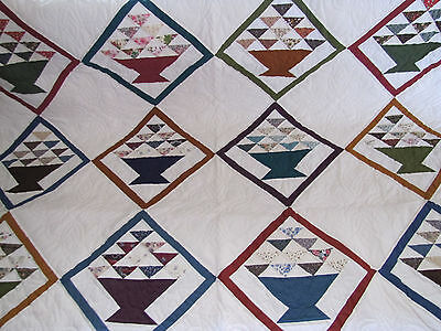 Rare Basket Quilt Signed & Dated 2003 Unused Condition ~Heritage House Quilting