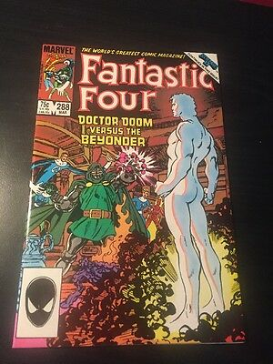 "Fantastic Four#288 Incredible Condition 9.4(1985)""Secret Wars 2""Beyonder,Byrne!!"