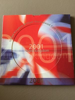 2001 UK Brilliant Uncirculated Coin Collection Set
