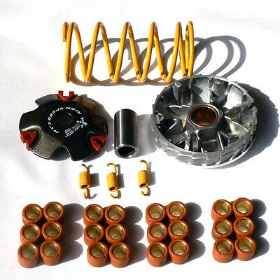 Racing Variator Kit with Roller Weights FOR SCOOTER MOPED GY6 QMB QMA 139