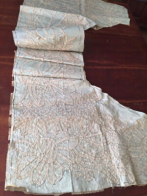 Antique Hand Made Battenburg Battenberg Tape Lace Rare Work in Progress