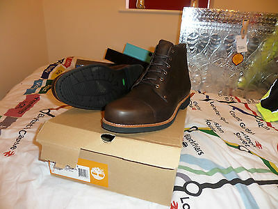 Mens Brown Timberland boots UK 14.5 Cm 33