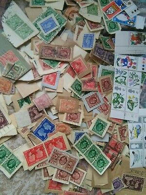 Small lot of GB  STAMPS  all on paper