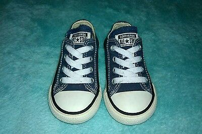 Baby boys Converse trainers size UK 5 infant