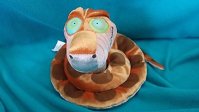 Disney Store new w tags  Jungle Book KAA Snake Stuffed Plush Glow In  Dark Eyes