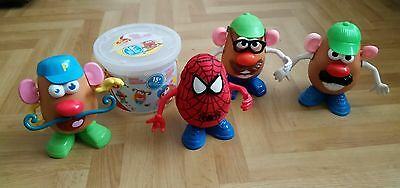 Mr Potato Head - Toy Story - Disney Bundle - 4 Complete Spuds & More / In VGC