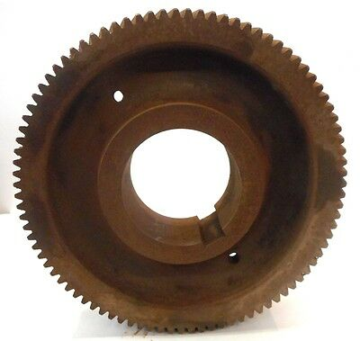 "Unknown Brand, Helical Gear, 12"" Outside Diameter , 91 Teeth"